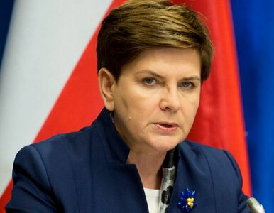 Beata Szydło: Chcemy ratować polskie górnictwo po 8 latach zaniedbań PO