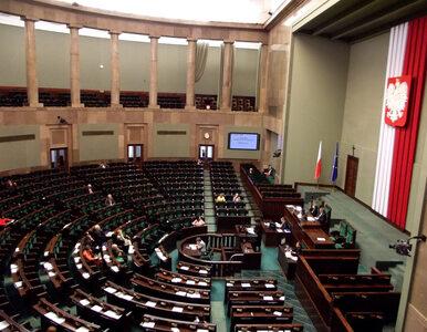 """Ostatnie posiedzenie Sejmu przed wyborami przerwane. """"Sytuacja bez..."""