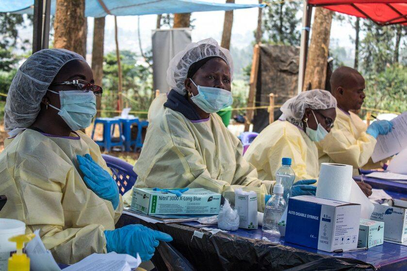 Wysiłki czynione w walce z ebolą w Demokratycznej Republice Konga