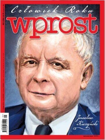 Okładka tygodnika Wprost nr 5/2016 (1722)