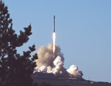 NA ŻYWO: Start rakiety Falcon 9. Na pokładzie elementy kosmicznego...