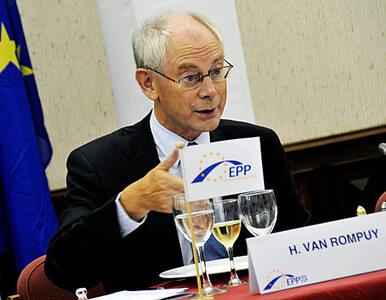 """Van Rompuy naciska Słowację. """"Dajcie na Grecję"""""""