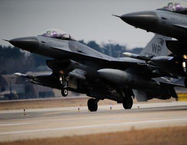 """Amerykańskie F-16 w Turcji.  W celu """"wsparcia wojny przeciwko IS"""""""