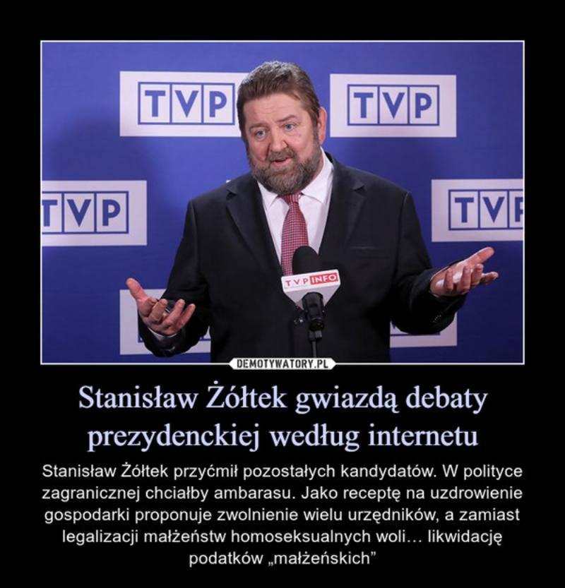 Mem ze Stanisławem Żółtkiem
