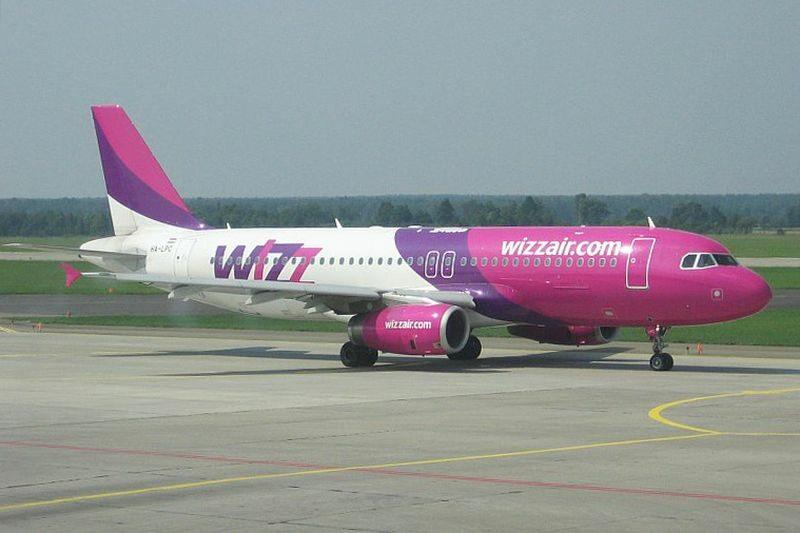 Samolot Wizz Air, zdjęcie ilustracyjne
