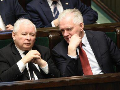 """Gowin widzi problem prawny w związku z pomysłem Kaczyńskiego. """"Sprawa..."""