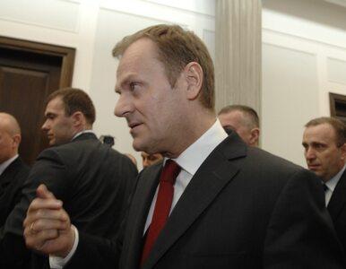 Tusk: w Europie nas podziwiają dzięki Rostowskiemu