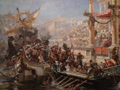 Bitwa morska w sercu miasta, czyli jak bawili się Rzymianie?