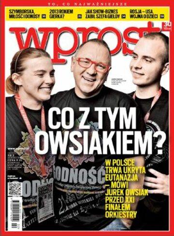 Okładka tygodnika Wprost nr 2/2013 (1559)