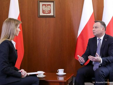 Andrzej Duda w TVP Info. Tematami sądownictwo i podsumowanie prezydentury