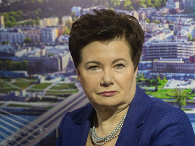 Gronkiewicz-Waltz: Apeluję do Patryka Jakiego, żeby jak najszybciej...