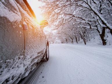 Sobota z intensywnymi opadami śniegu na południu. Uwaga na warunki drogowe!