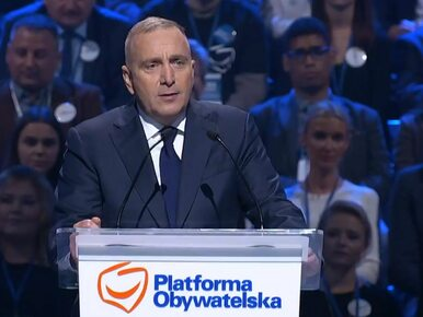 """Konwencja Platformy Obywatelskiej. Schetyna przedstawił """"totalną..."""