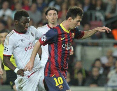 LM: Barcelona na pół gwizdka ograła Milan. Dwa gole Messiego
