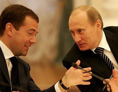 Miedwiediew odcina się od pomysłu Putina