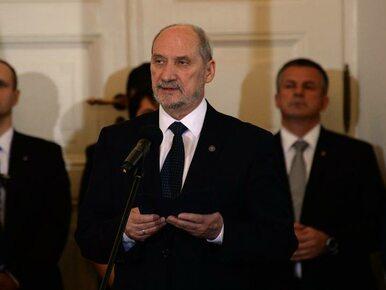 Dymisja Macierewicza była poprzedzona operacją służb wymierzoną w...