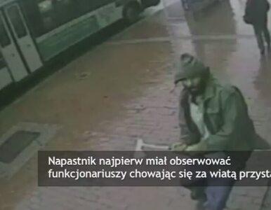 Siekierą zaatakował 4 policjantów