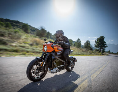 Harley-Davidson LiveWire w Genewie