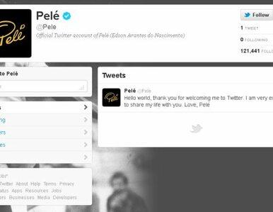 """""""Witaj świecie"""". Pele otworzył konto na Twitterze"""