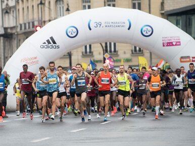 Zmarł jeden z uczestników Maratonu Warszawskiego. Stracił przytomność na...