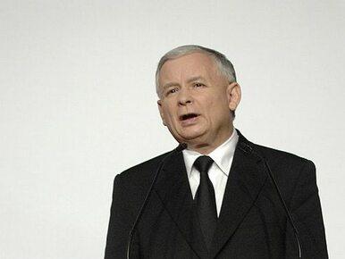Kurski: Kaczyński przemawiał na tle flag UPA