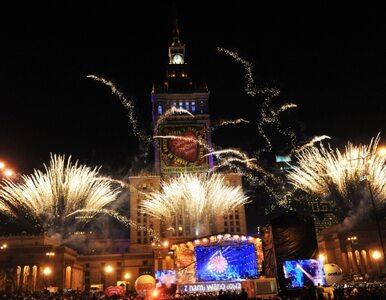 Światełko do nieba nad Pałacem Kultury w Warszawie