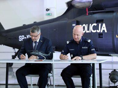 Dwa nowe śmigłowce trafią do policji. Podpisano umowę