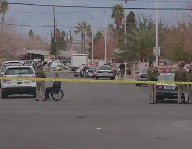 Policyjny helikopter runął na ziemię w Las Vegas