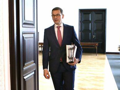 Rekonstrukcja rządu Morawieckiego już jesienią?