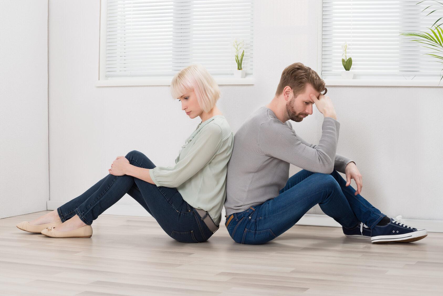 Pokłócona para (zdjęcie ilustracyjne)