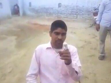 Wyborca z Indii odciął sobie kawałek palca. Zagłosował na niewłaściwą...