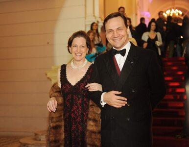 Gadzinowski: żona Sikorskiego jest szczupła, bo...