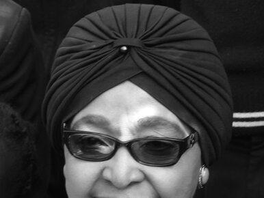 Zmarła Winnie Madikizela-Mandela. Żona Nelsona Mandeli miała 81 lat