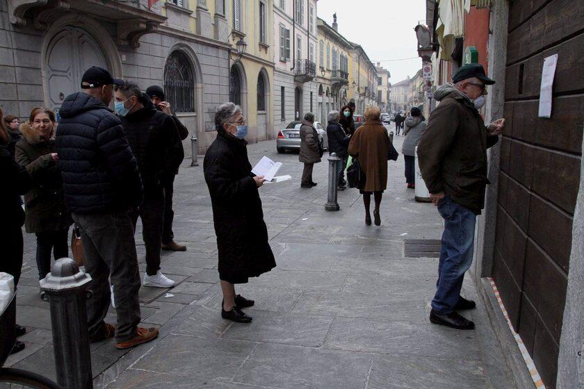 Włochy. Miasto Codogno, gdzie zanotowano liczne przypadki koronawirusa