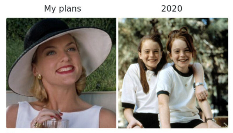 Moje plany kontra rok 2020